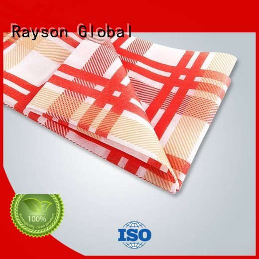 pp non woven fabric manufacturer floral printed table covers size company