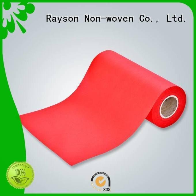 rayson nonwoven، ruixin، enviro العلامة التجارية spunbond facemask منسوجات الشركات oeko friendly