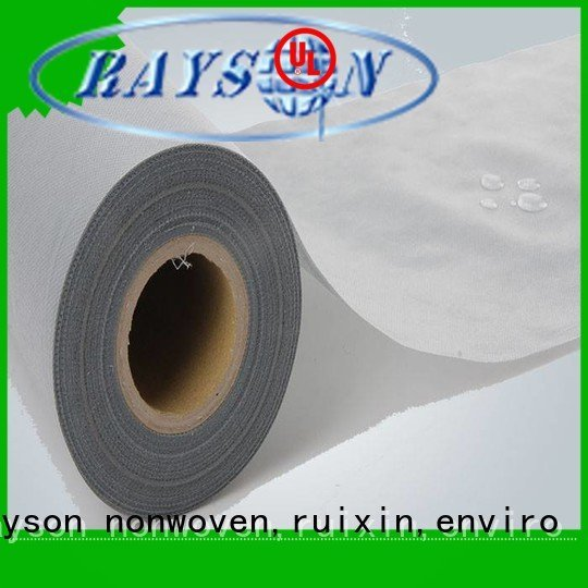rayson nonwoven,ruixin,enviro Brand surgical through non woven polyester fabric manufacturer pp laminated