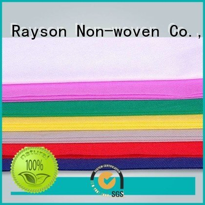 non woven polypropylene fabric suppliers sanitary sale disposable table cloths rayson nonwoven,ruixin,enviro Warranty
