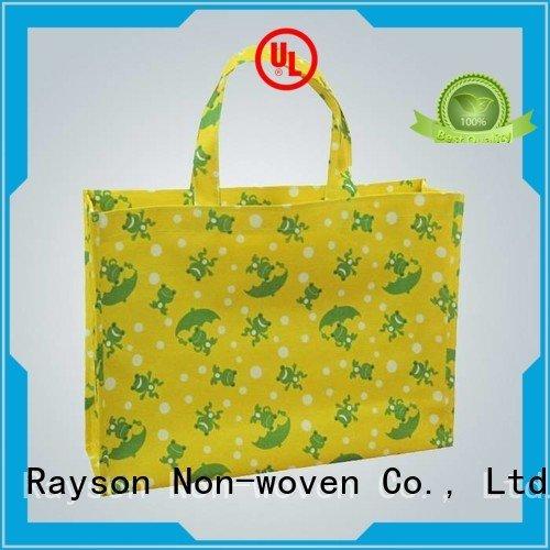 printing zipper long non rayson nonwoven,ruixin,enviro non woven bags raw material