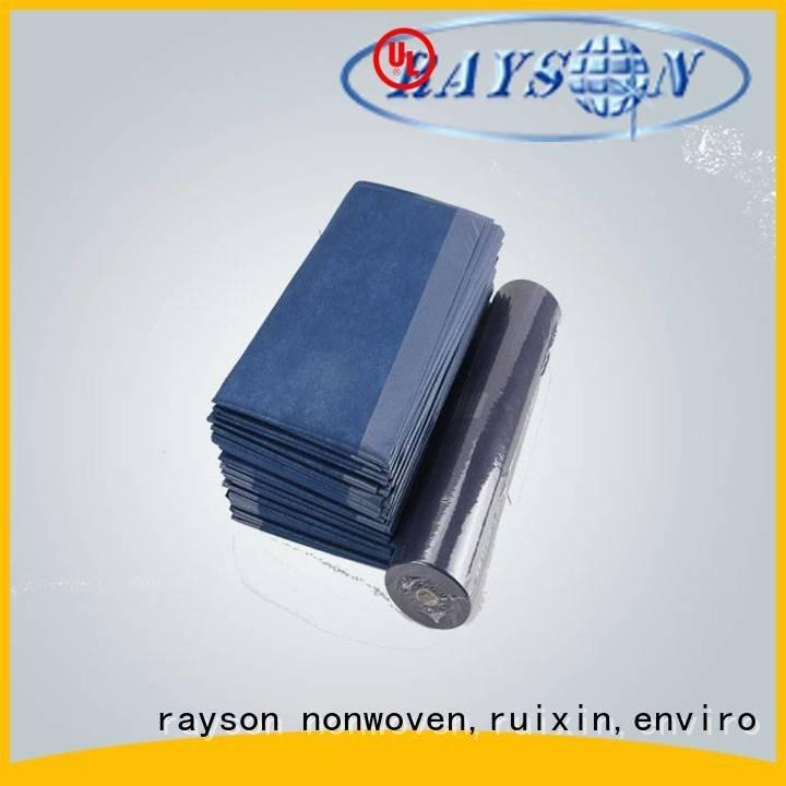 coat buy non woven fabric spunlace surgical rayson nonwoven,ruixin,enviro