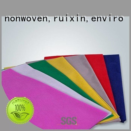 spunbond 50gr non woven tablecloth small rayson nonwoven,ruixin,enviro