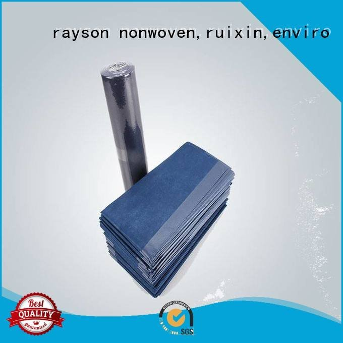 functional antibacterial blue nonwovens industry rayson nonwoven,ruixin,enviro