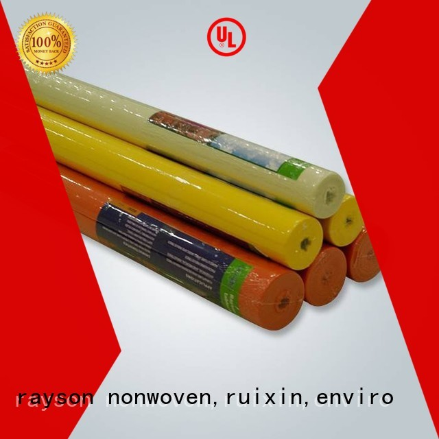 レーヨン不織布、ルイシン、エンバイロブランドの花屋手頃な価格のスパンボンド不織布