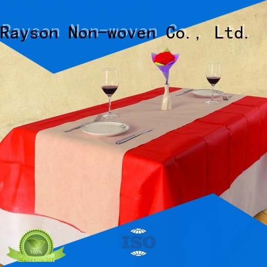 paper size oem rolls rayson nonwoven,ruixin,enviro disposable table cloths