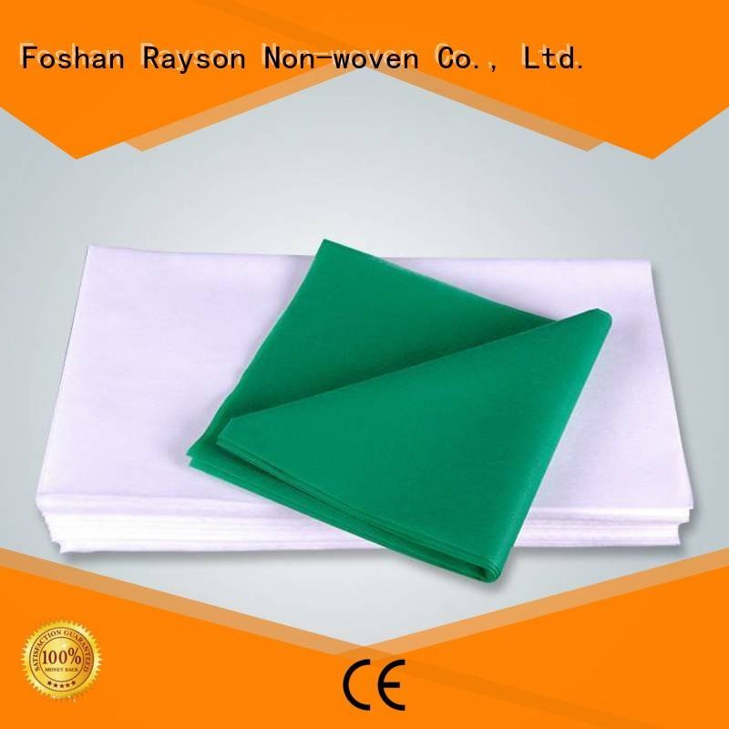 100 disposable table cloths hotel packing rayson nonwoven,ruixin,enviro