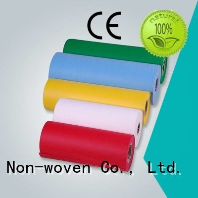 spunbond nonwoven fabric colors gifts customized technics