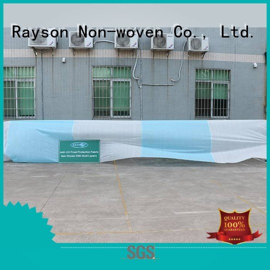rayson nonwoven,ruixin,enviro Brand covering agricultral flower garden fabric 25gr factory