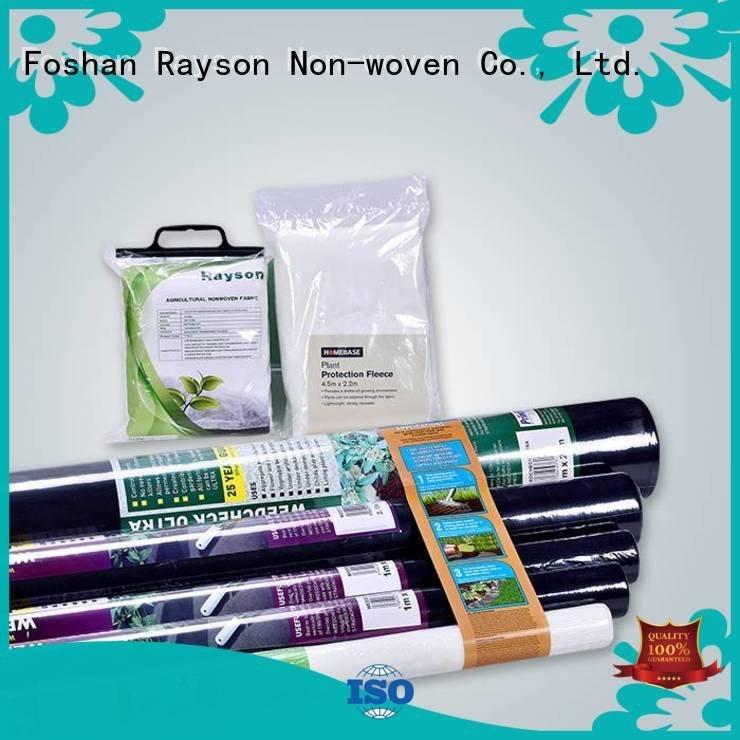 rayson nonwoven,ruixin,enviro 30 year landscape fabric cover uv fleece accessories
