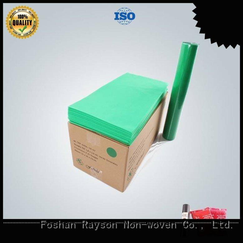 rayson nonwoven,ruixin,enviro Brand shape non woven cloth touched supplier