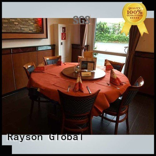 table non woven fabric tablecloth rosso red rayson nonwoven,ruixin,enviro