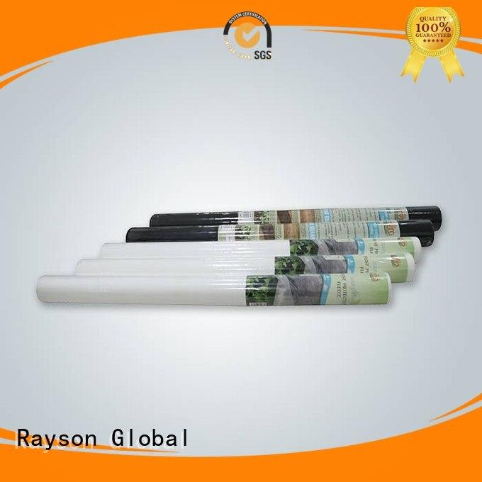Personalizado tecido de jardim de flor profissional protegida rayson não tecido, ruixin, polipropileno enviro