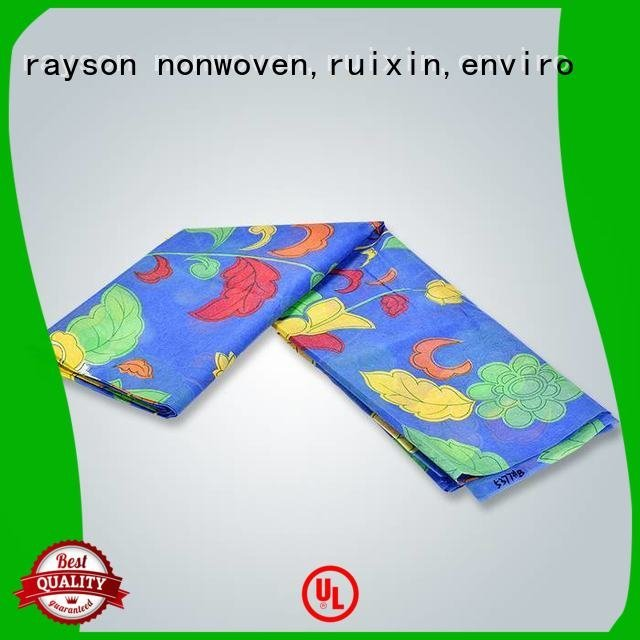 rayson nonwoven,ruixin,enviro Brand certificate colors slipper non woven fabric manufacturing machine cost dotted