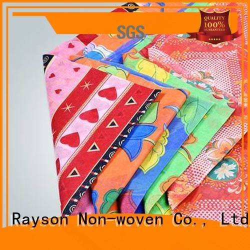 Hot spunlace nonwoven fabric suppliers colorful quilting spunbonded rayson nonwoven,ruixin,enviro Brand