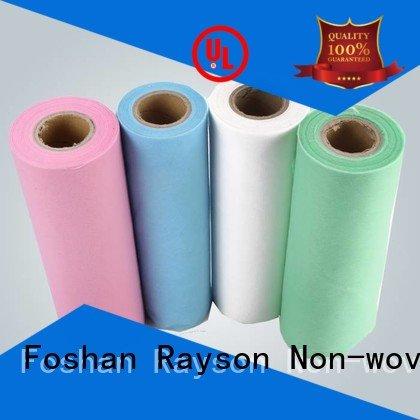 color buy non woven fabric material white rayson nonwoven,ruixin,enviro