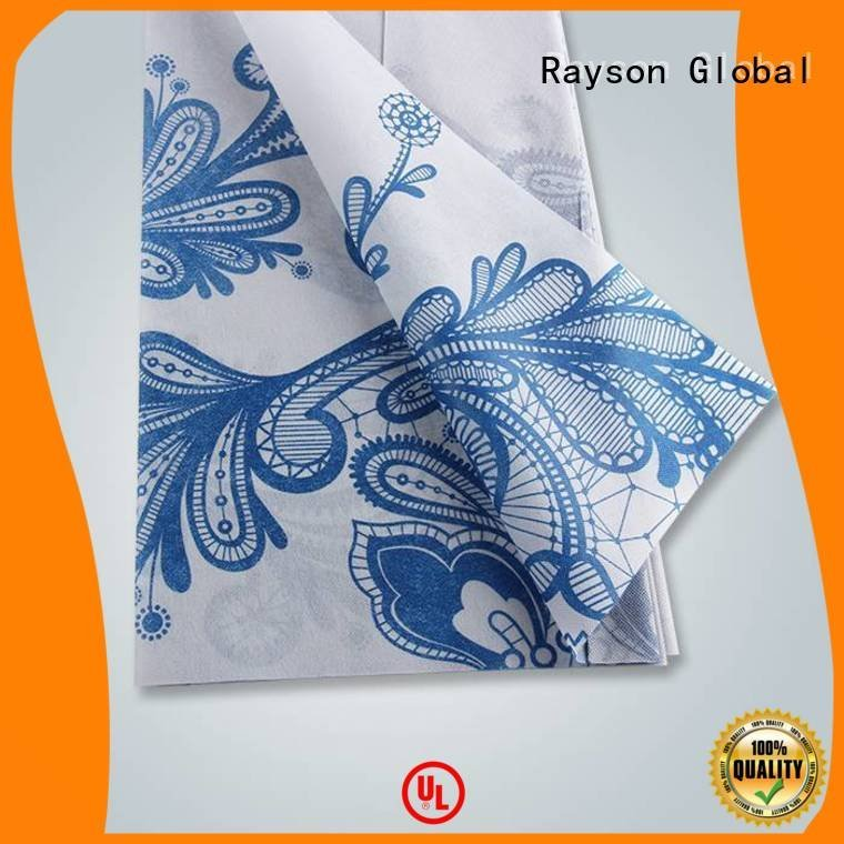 100 own printed table covers rayson nonwoven,ruixin,enviro Brand