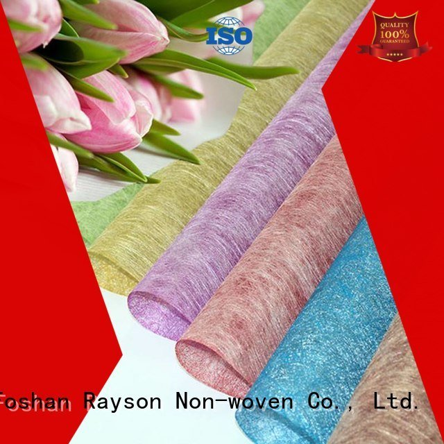 rayson nonwoven,ruixin,enviro Brand looking wraps non woven polypropylene colors us