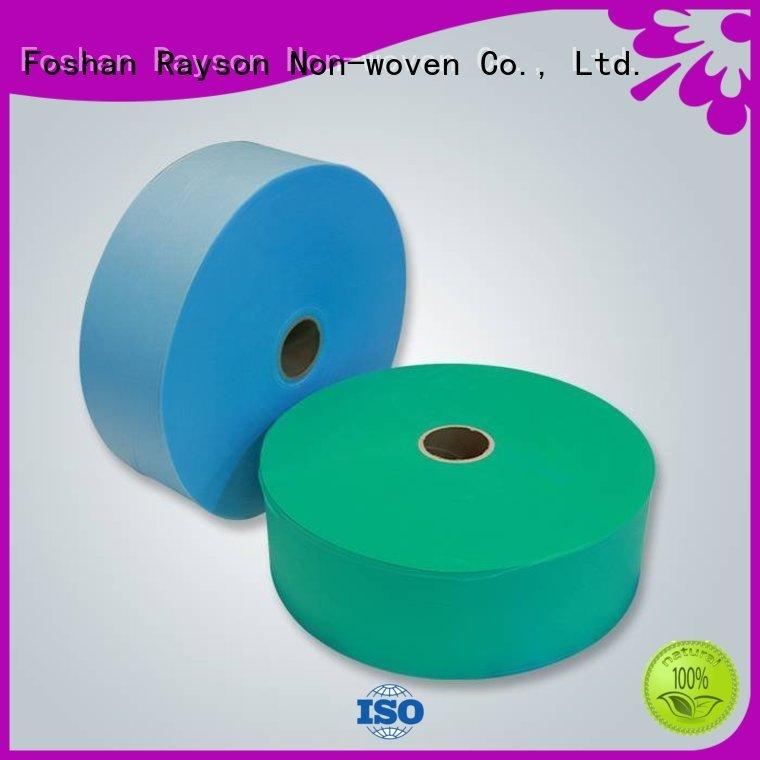 rayson nonwoven,ruixin,enviro Brand suitable spunbond ss non woven polyester fabric manufacturer nonwoven