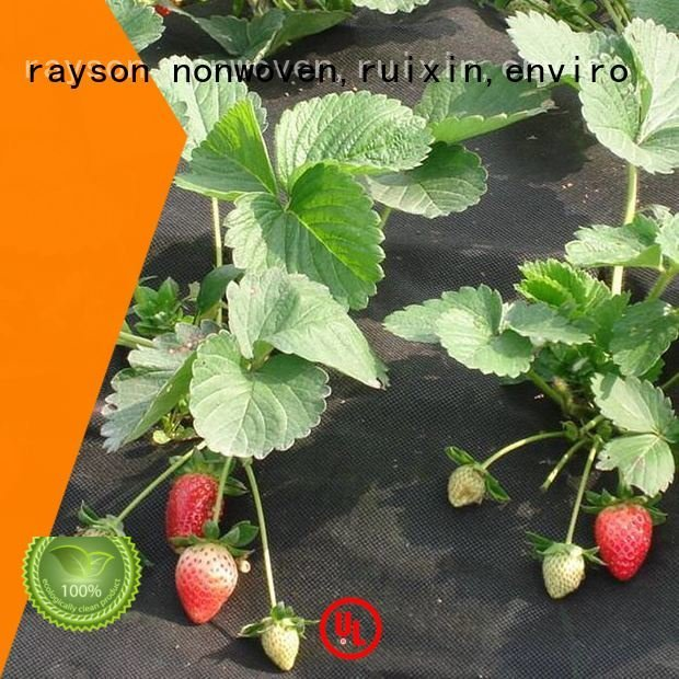 coverings ground treated protect rayson nonwoven,ruixin,enviro flower garden fabric