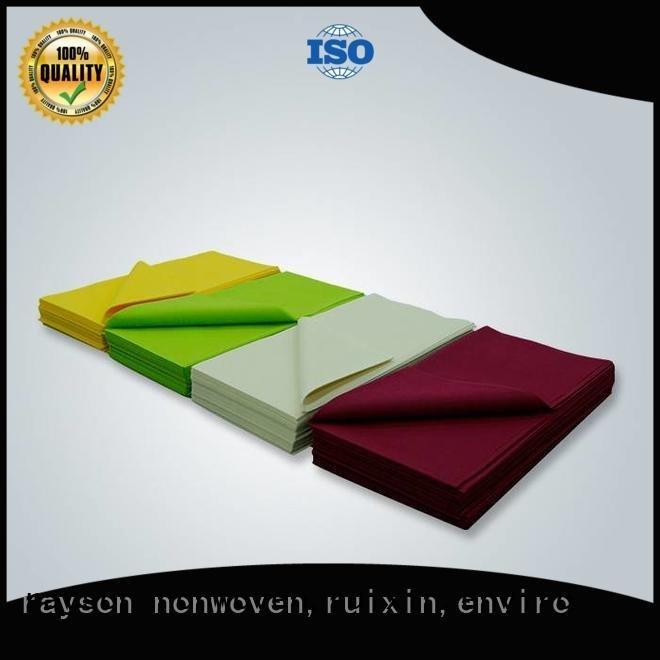multi black raw popular rayson nonwoven,ruixin,enviro tnt tablecloth