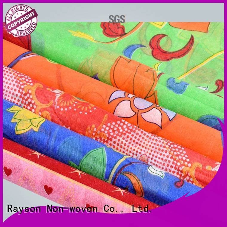 woven quilting beautiful table rayson nonwoven,ruixin,enviro spunlace nonwoven fabric suppliers