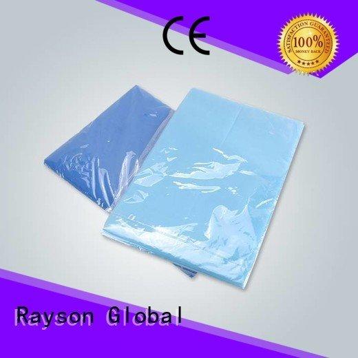 rayson nonwoven,ruixin,enviro Brand nonwoven hygienic non woven fabric used in agriculture sms color