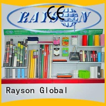 fabricspunbond شهادة rayson محبوكة ، ruixin ، enviro غير المنسوجة النسيج الحشائش التحكم