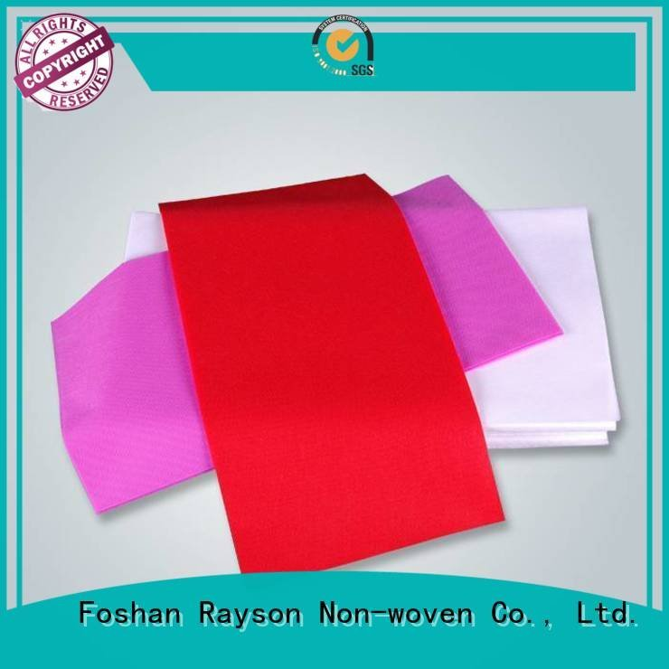 by pink disposable table cloths customize rayson nonwoven,ruixin,enviro
