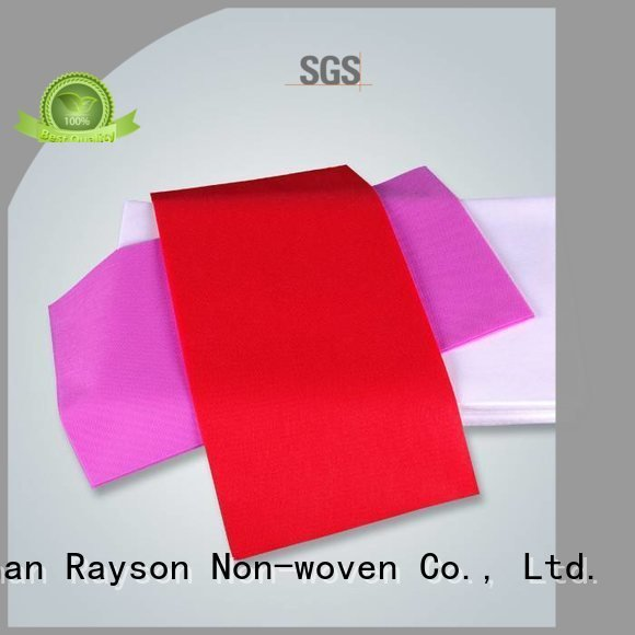 pink cartons rayson nonwoven,ruixin,enviro disposable table cloths