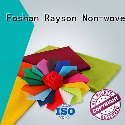 rayson nonwoven,ruixin,enviro Brand soft fabric examination non woven tablecloth manufacture