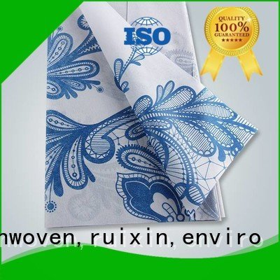 rayson nonwoven,ruixin,enviro Brand non pp non woven fabric manufacturer