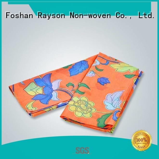 cover tablecloth printing certificate rayson nonwoven,ruixin,enviro non woven fabric manufacturing machine cost
