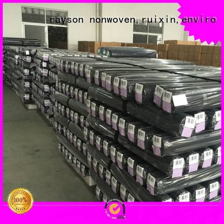 growth treatment rayson nonwoven,ruixin,enviro 30 year landscape fabric